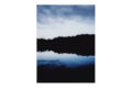 lake - Ply wood block print, Fuji Crystal DP II paper with  matte lamination (15cm x 20cm)